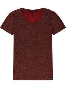 Γυναικείο lurex t-shirt Scotch & Soda